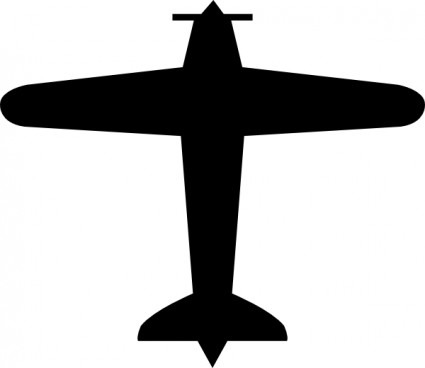 425x368 Airplane Clipart Black And White