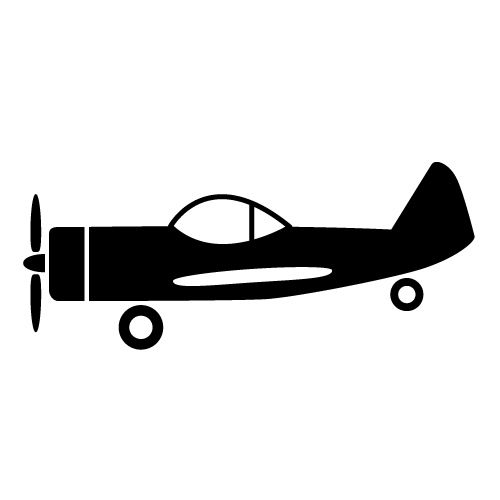 500x500 Propeller Airplane Clipart, Explore Pictures