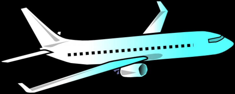 820x328 Airplane Clipart Black And White Free Clipart Images 2
