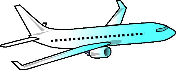 600x240 Clip Art Airplanes