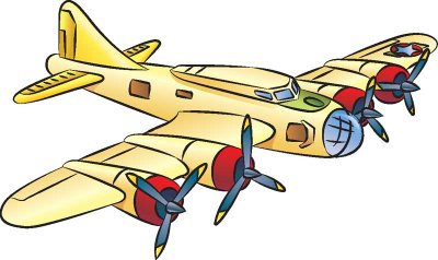 400x238 Easy Plane Clipart