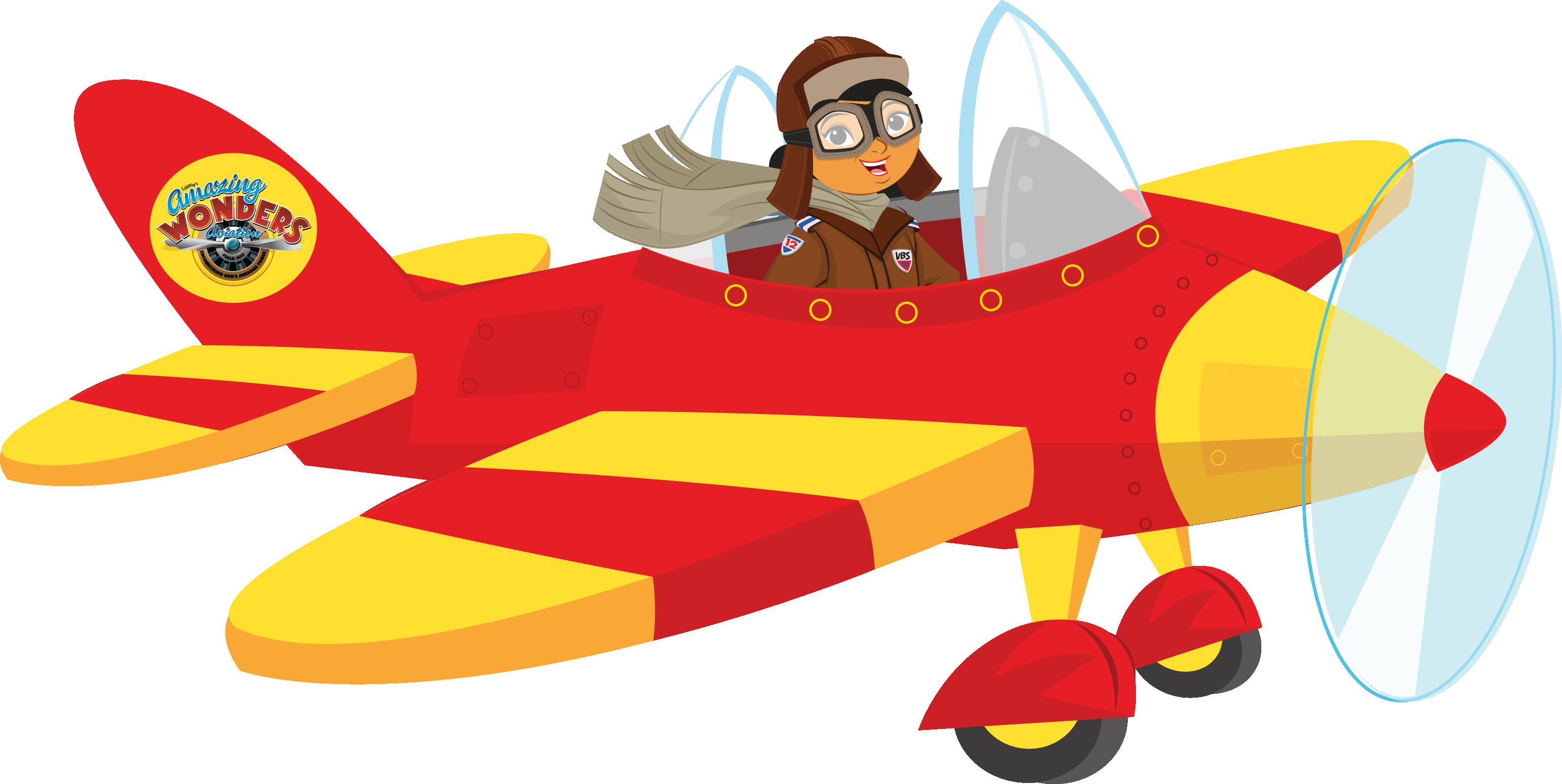 3091x1553 Girl Clipart Airplane