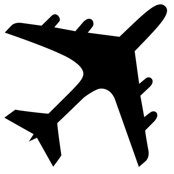 736x736 The Best Airplane Silhouette Ideas Silhouette