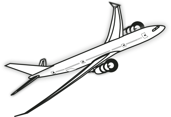 600x412 Airplane Clipart No Background Free Clipart Images 2 Clipartix