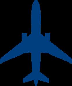 249x297 Blue Plane Clip Art