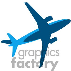 300x300 Airplane Clipart Flew