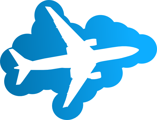600x461 Airplane Clipart No Background