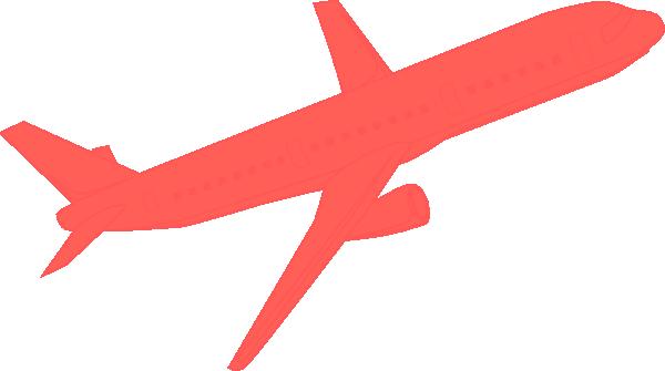 600x335 Airplane Coral Clip Art