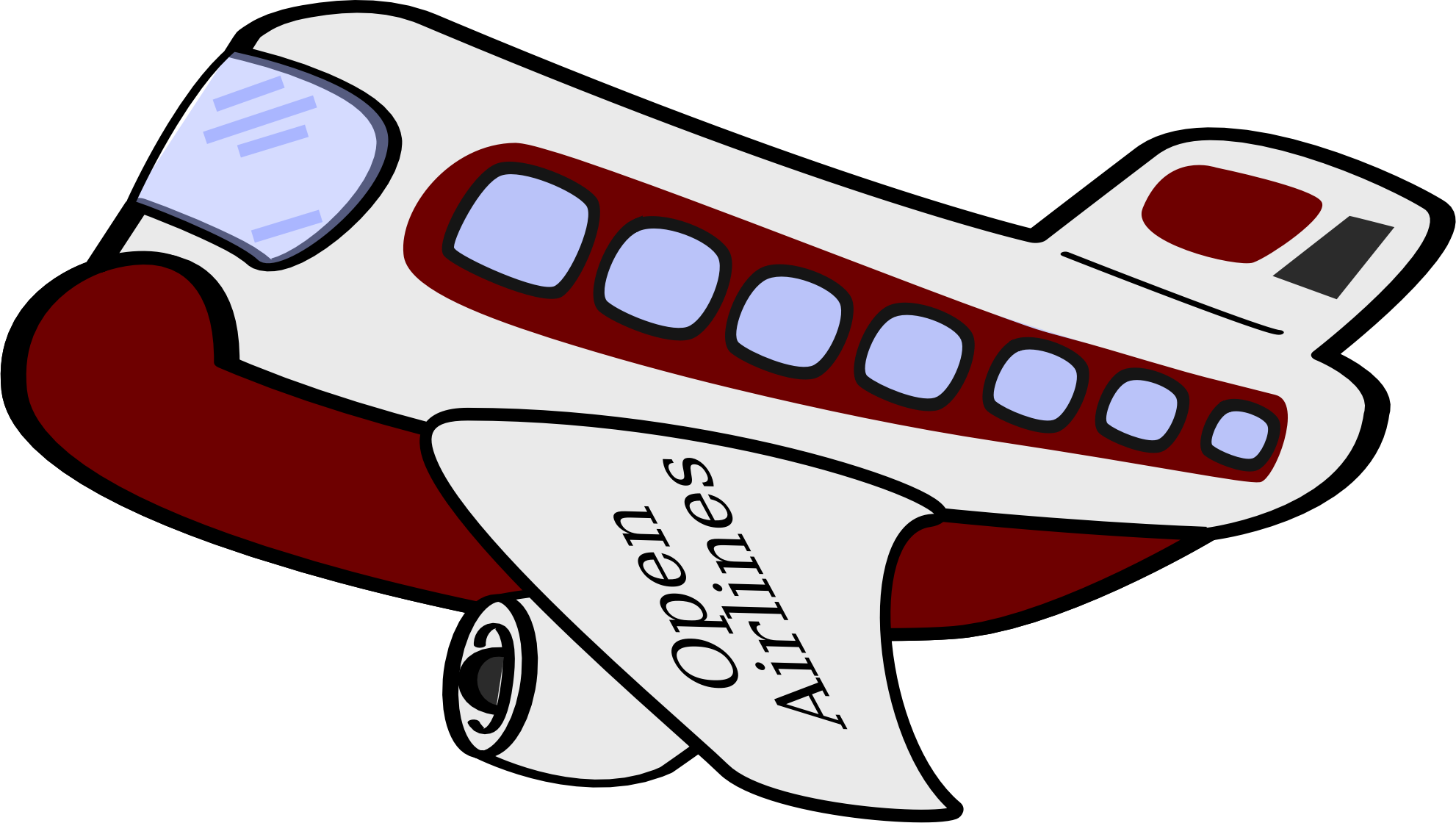 1982x1120 Airplane Clipart Funny