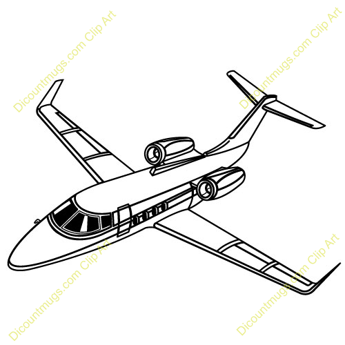 500x500 Aviation Clipart Jet