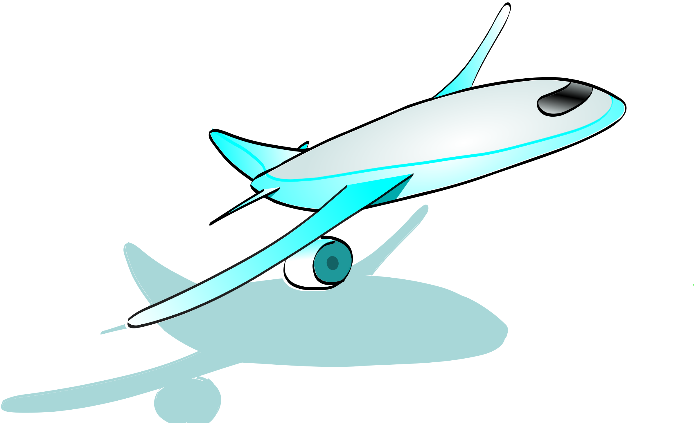2400x1458 Jet Clipart Airplane Flying