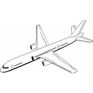 300x300 Drawn Airplane Coloring Page