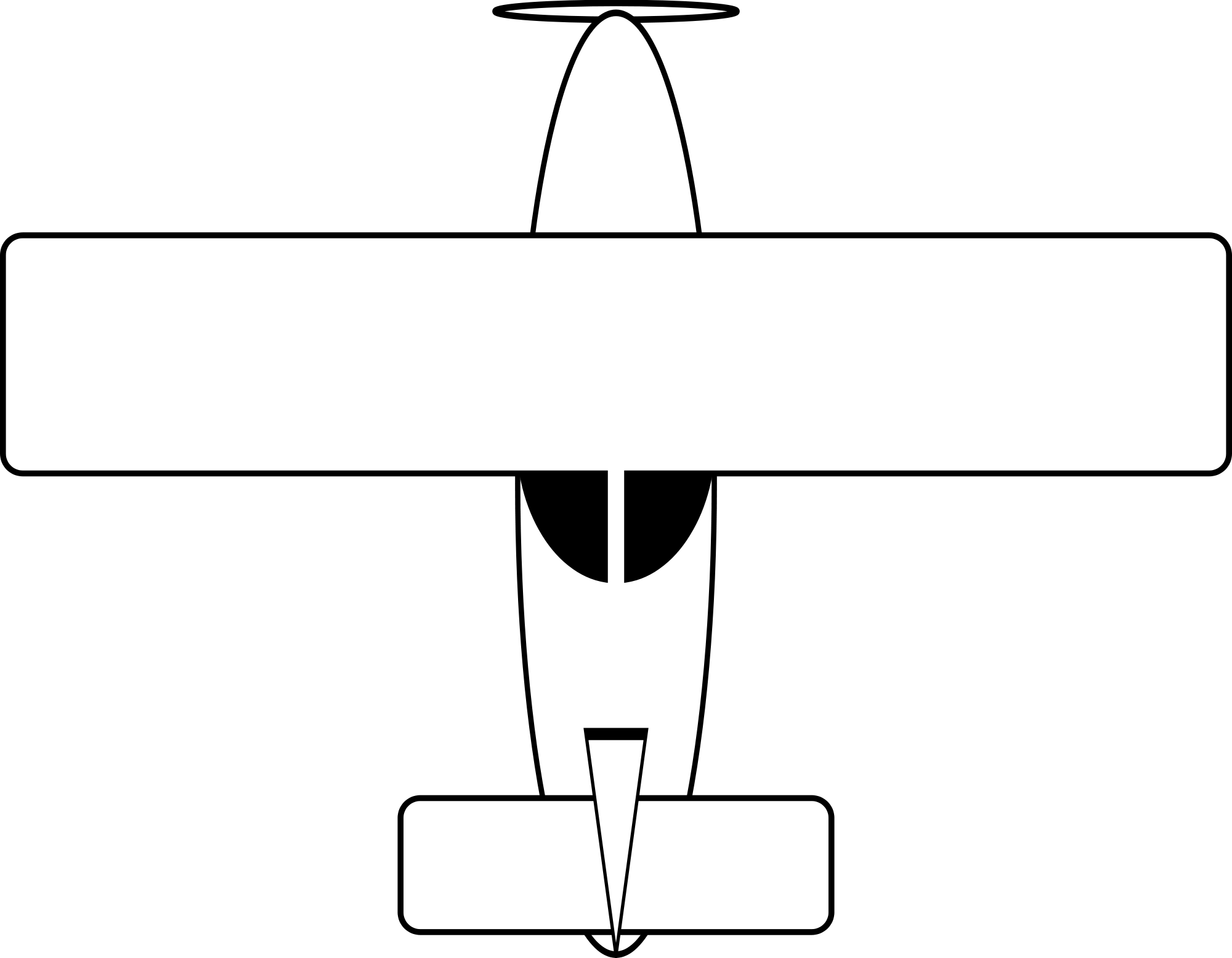 2000x1555 Fileairplane Drawing.svg