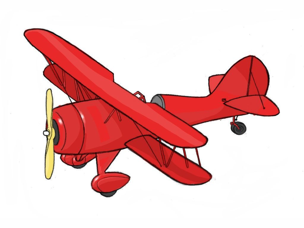 1024x768 Wikihow To Draw A 1930s Airplane