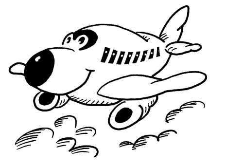 465x345 Coloring Pages For Kids Airplane Coloring Pages