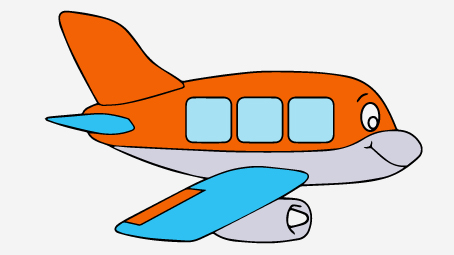 454x255 Top 35 Airplane Coloring Pages Your Toddler Will Love