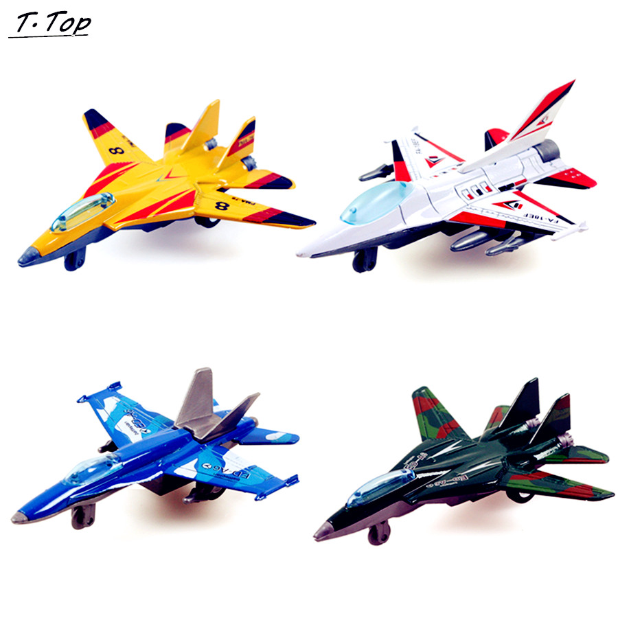 900x900 Wheels Mini Cheap Colorful Alloy Pull Back Airplane Fighter Jet