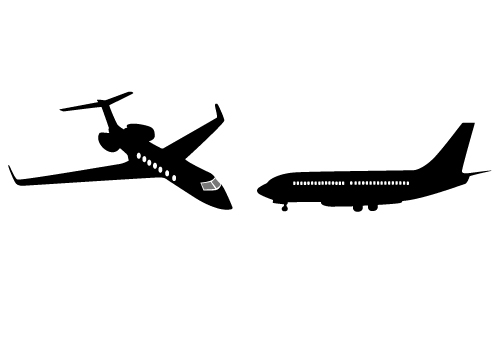 500x350 Aircraft Clipart Boeing 747