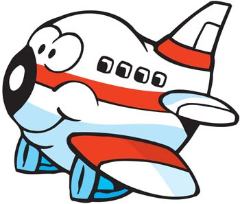 350x297 Airplane Clipart Face
