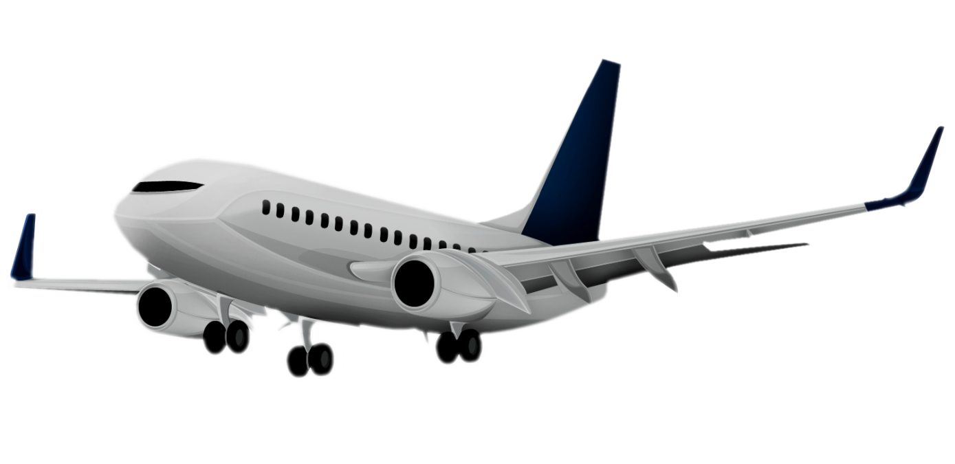 1389x675 Airplane White Background Images All White Background