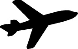 300x190 Airplane Clipart Clear Background