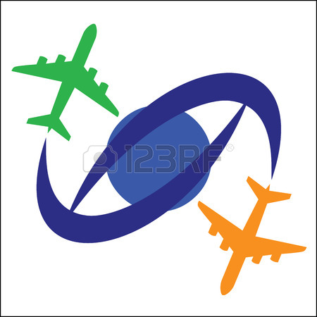 450x450 337 Flight Path Cliparts, Stock Vector And Royalty Free Flight