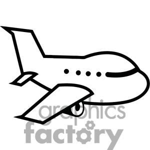 Airplane With Banner Vector