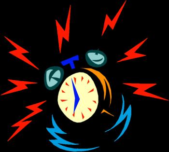 Alarm Clock Cliparts