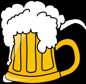 300x294 Beer.flowing Clip Art