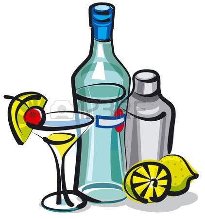 422x450 Liquor Clipart Coctail