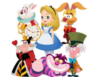 340x270 Alice In Wonderland Clipart Alice In Wonderland Clip Art Mad