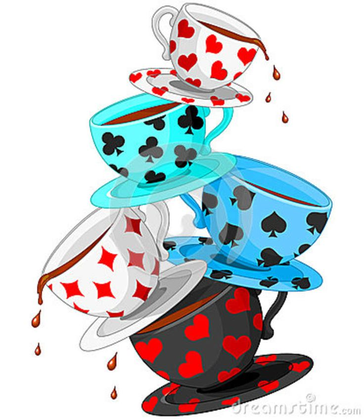 736x847 Alice In Wonderland Tea Party Clipart Kid 2