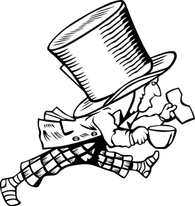 284x300 Alice In Wonderland Clip Art Free Clipart 3 Image