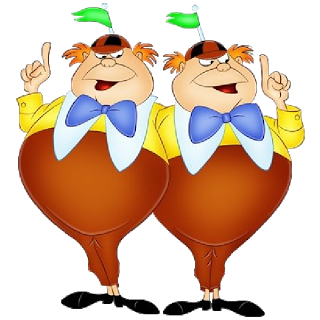320x320 TWEEDLE DEE amp TWEEDLE DUM ~ Alice in Wonderland, 1951 ALICE IN