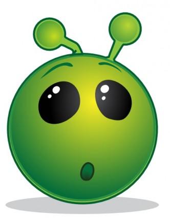 332x425 Image Of Alien Clipart