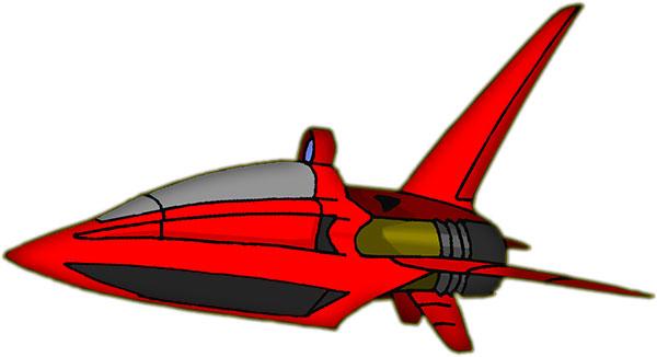 600x326 Spaceship Clipart