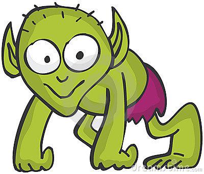 400x340 Alien Clipart Goblin