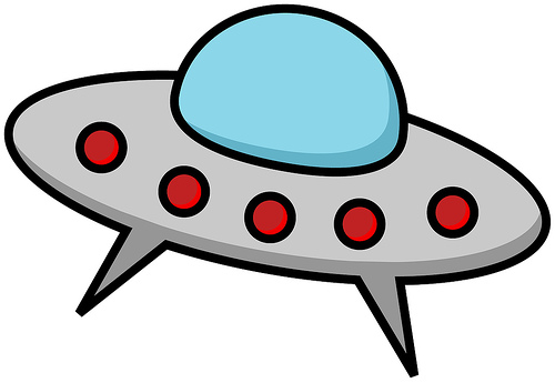 500x345 Ufo Clipart Flying Saucer