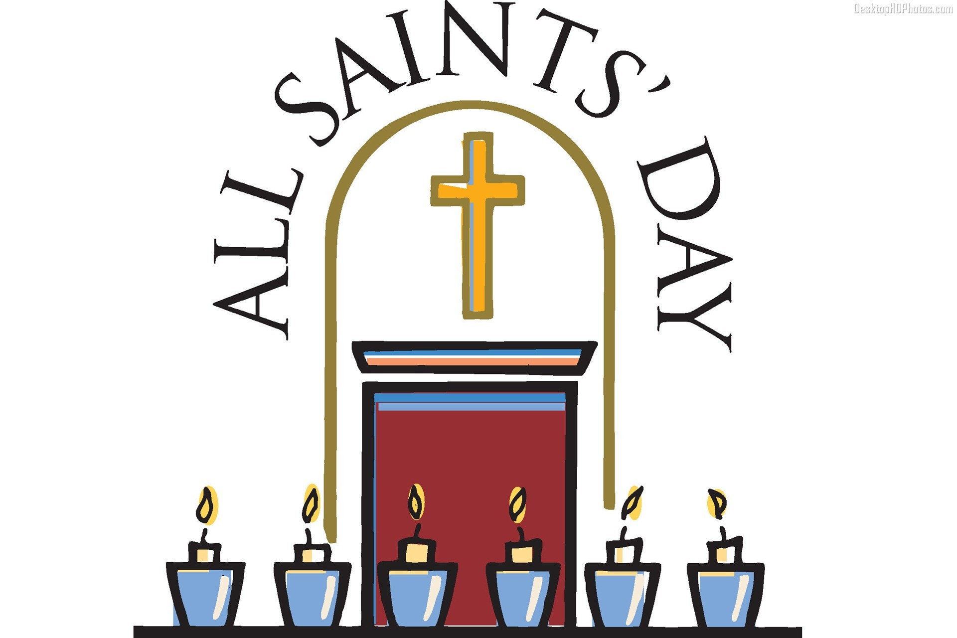 All Saints Day Clipart | Free download best All Saints Day Clipart ...