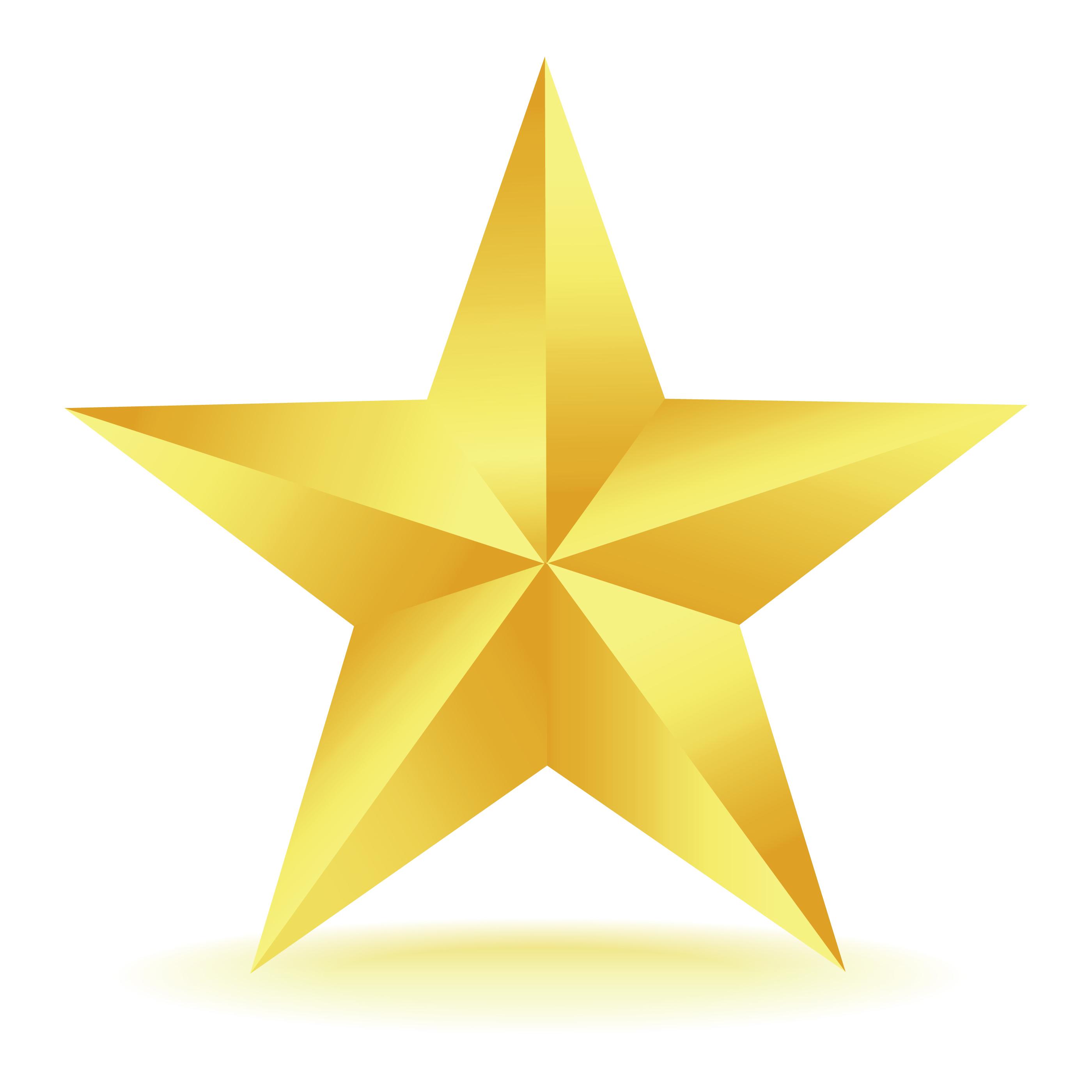2800x2800 Gold Star Images Clip Art