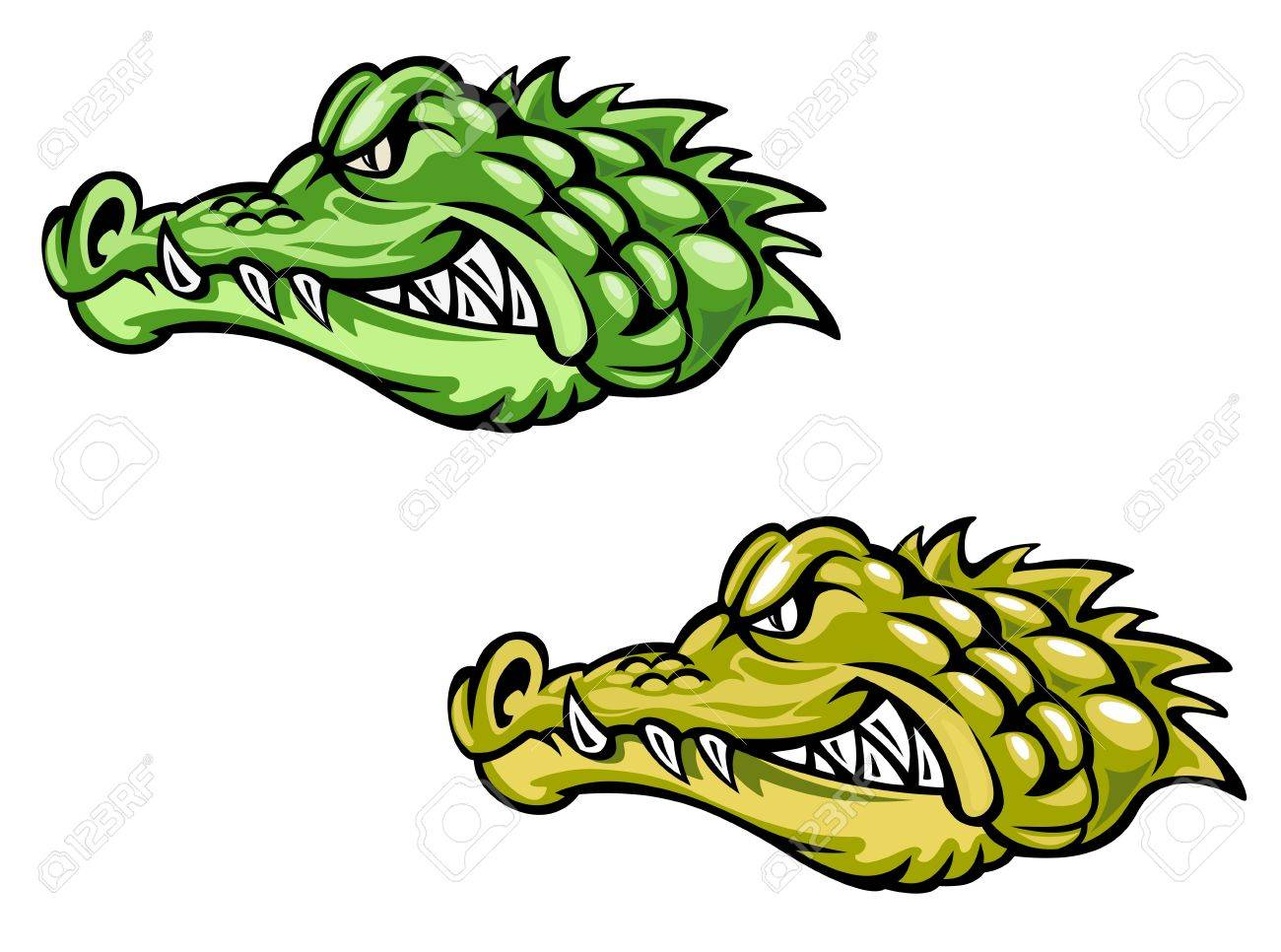 Alligator Cartoon Image