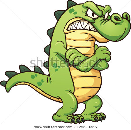 450x448 Alligator Clipart Simple