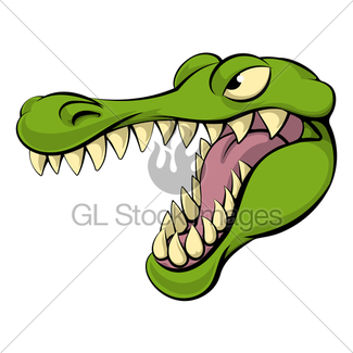 325x325 Gator Or Alligator Mascot Cartoon Gl Stock Images