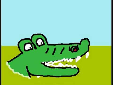 480x360 My Corny Alligator Cartoon