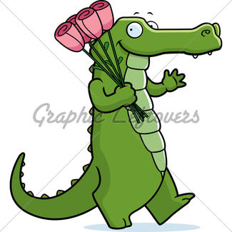325x325 Alligator Cartoon Gl Stock Images