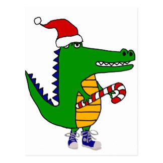 324x324 Cute Cartoon Alligator Postcards Zazzle