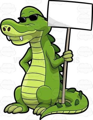 310x400 Top 80 Alligator Clipart