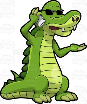 335x400 Alligator Clipart