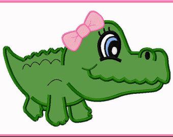 340x270 Alligator Clipart Cute
