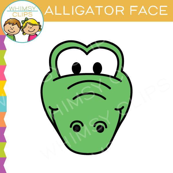 600x600 Alligator clip art , Images amp Illustrations Whimsy Clips